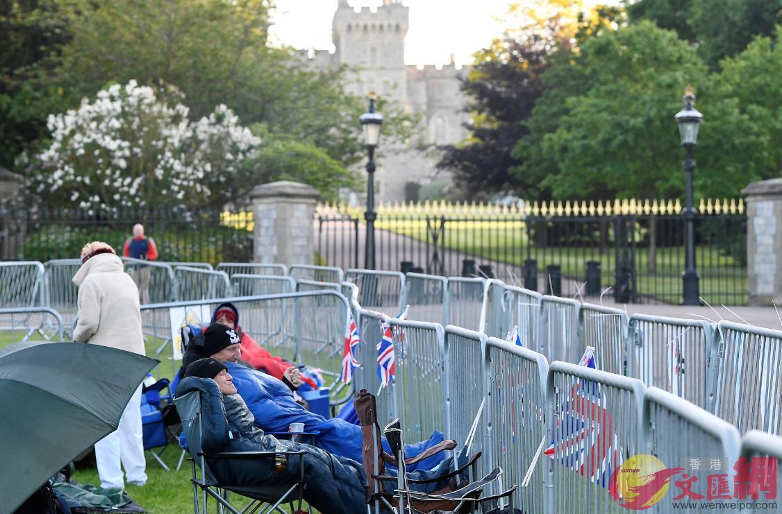 英國哈里王子與美國女演員梅根•馬克爾的婚禮將於明日(19日)在溫莎城堡的聖喬治教堂舉行(路透社)