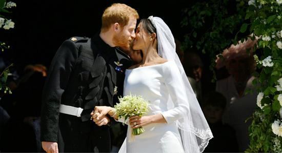 哈里王子與梅根於當地時間19日舉行婚禮。
