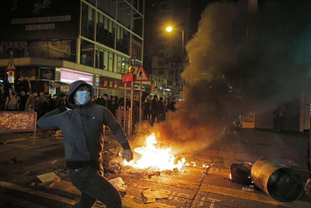 圖:旺角暴亂各被告近來相繼被裁定罪成\資料圖片