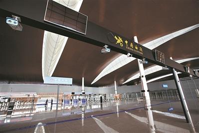 珠港出境大廳內景