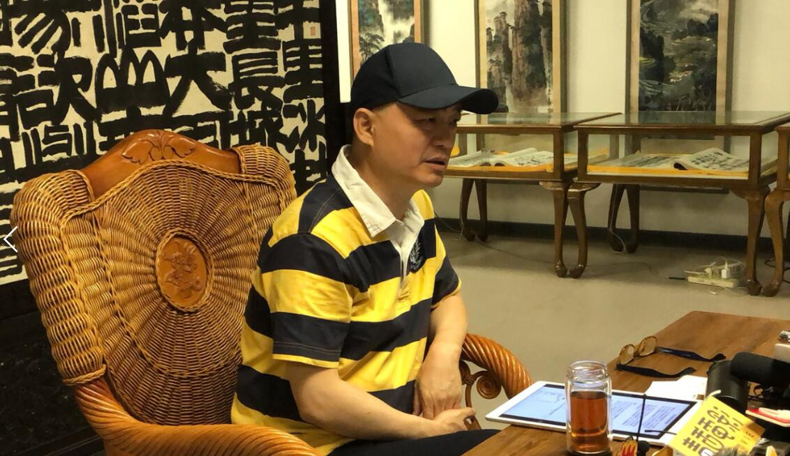 崔永元接受媒體群訪