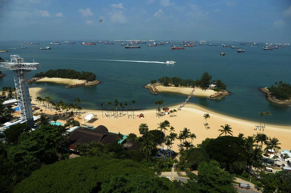 6月7日,兩名韓國媒體人員涉嫌非法進入朝鮮駐新加坡大使的住所,被警方逮捕。圖為新加坡(法新社)