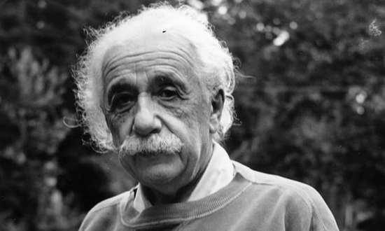 圖為愛因斯坦,攝於1921年。(來源:衛報)