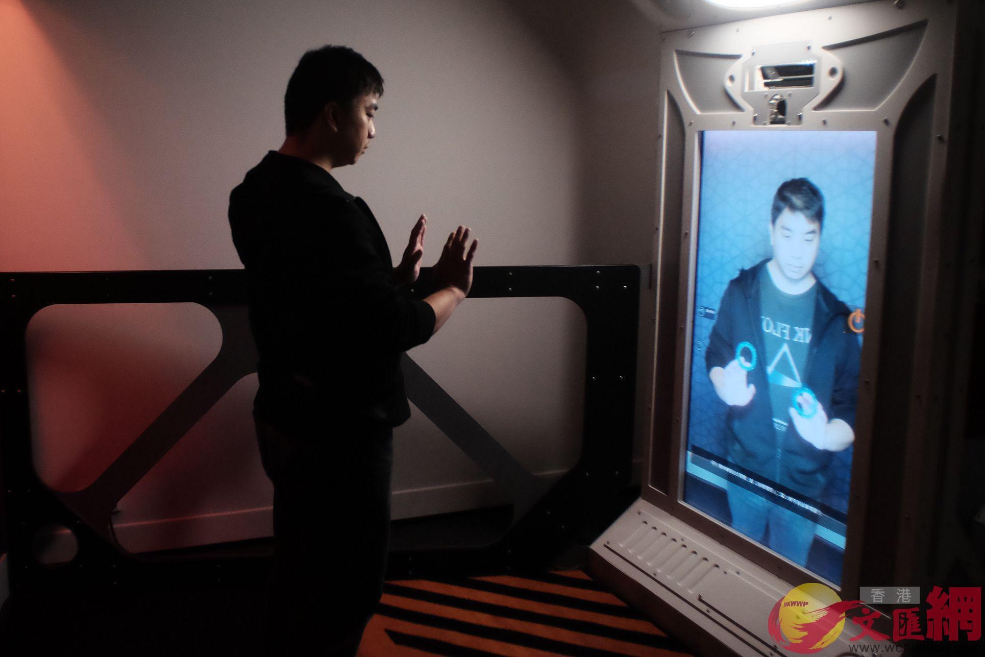 眾多高科技手段帶給觀眾「互動式參觀」體驗。