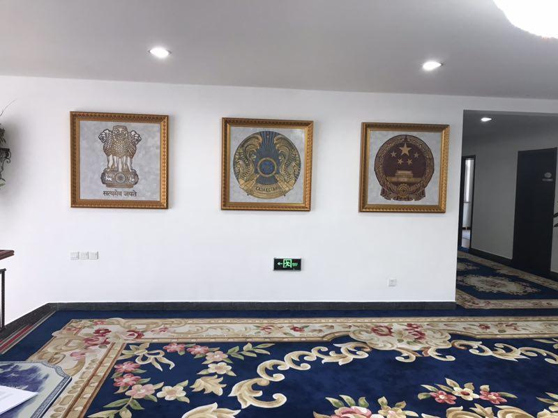 秘書處二樓「國徽廳」