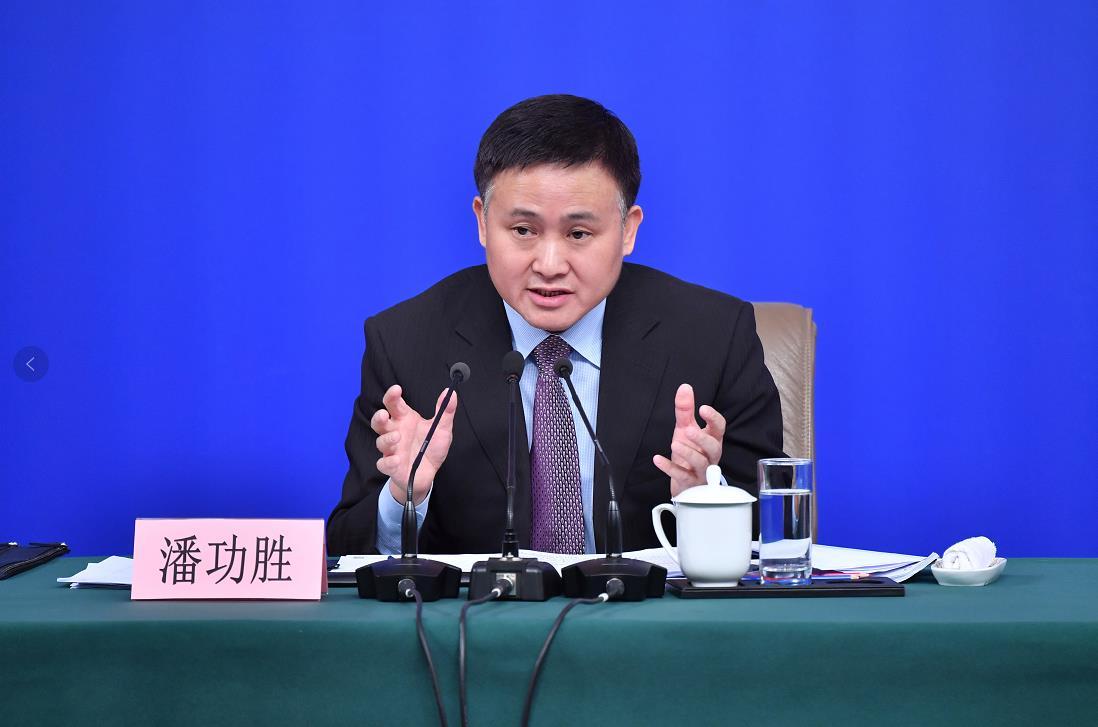 中國人民銀行副行長、國家外匯管理局局長潘功勝(新華社資料圖片)