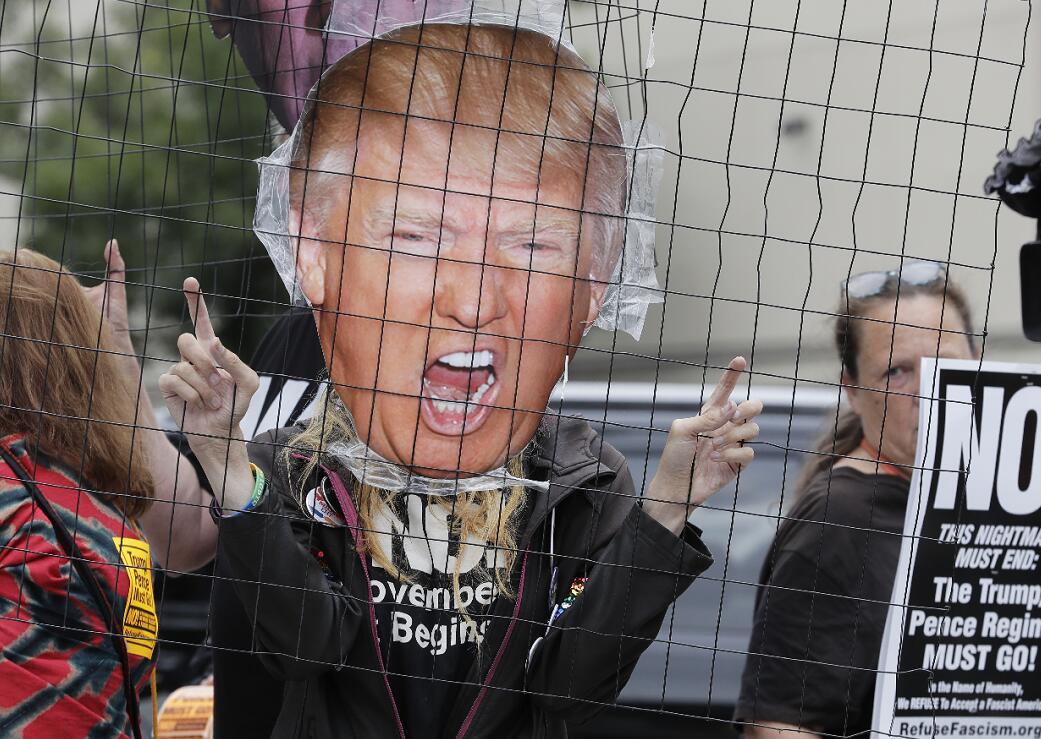 特朗普被前司機指控拖欠薪津(美聯社資料圖片)