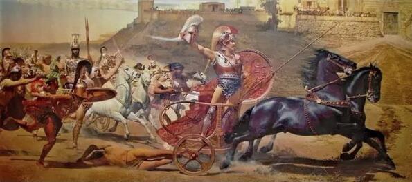 荷馬史詩刻畫了古希臘文明中的方方面面。(澎湃新聞)