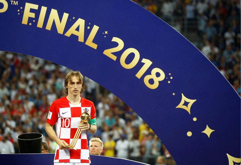 世界盃最佳球員莫迪歷 (Modric)(路透社)