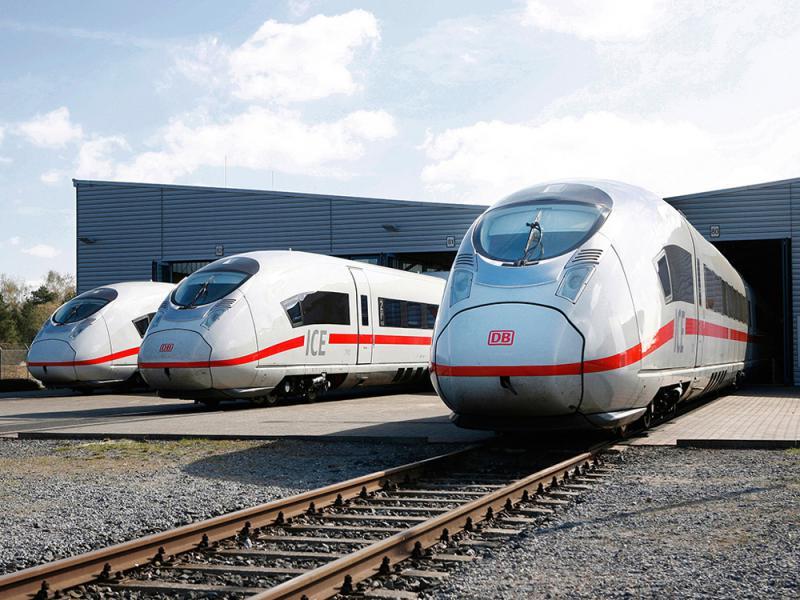 圖:近日,由馬鋼生產的160件時速320公里高速車輪運抵德國鐵路公司威滕伯格基地 網絡圖片