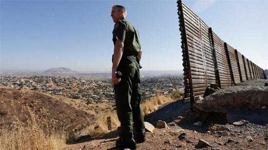 美墨邊境牆。