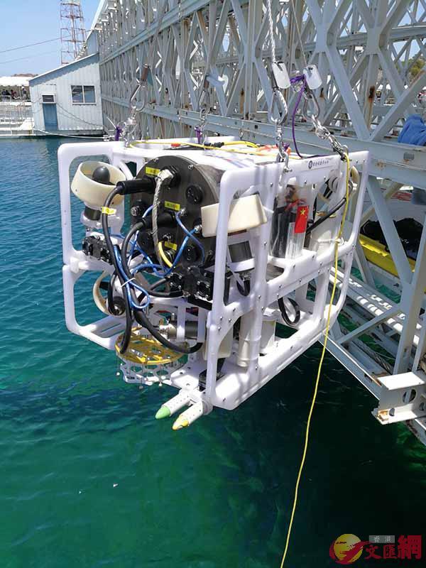 哈工程水下機械人登頂世界冠軍。哈工程供