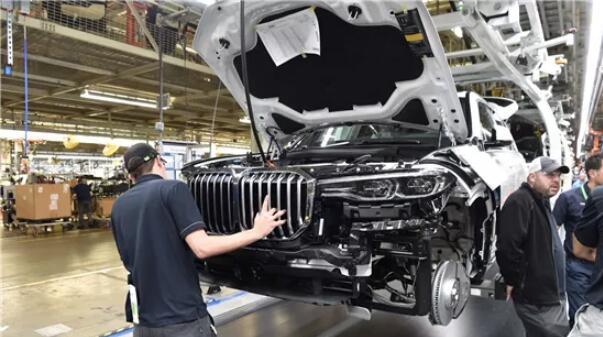 美國斯帕坦堡城汽車廠 資料圖片(來自網絡)
