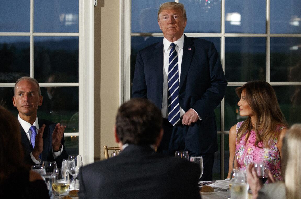 特朗普一意孤行發起對華貿易戰。美聯社