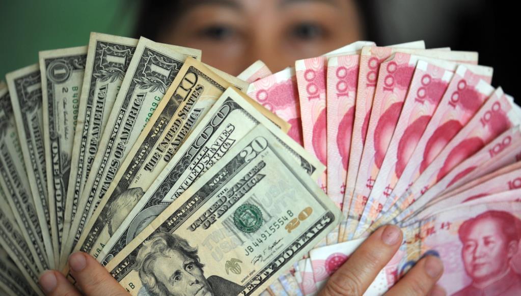 彭博列舉五大趨勢利好人民幣匯率走勢。(新華社資料圖)