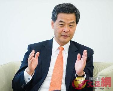 梁振英指「港獨」破壞中央與香港的關係。(文匯報資料圖片)