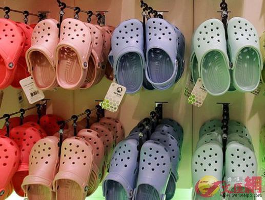 Crocs鞋一度風靡全球(網絡圖片)