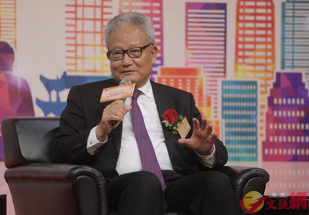 香港中華廠商聯合會會長吳宏斌(全媒體記者麥鈞傑攝)