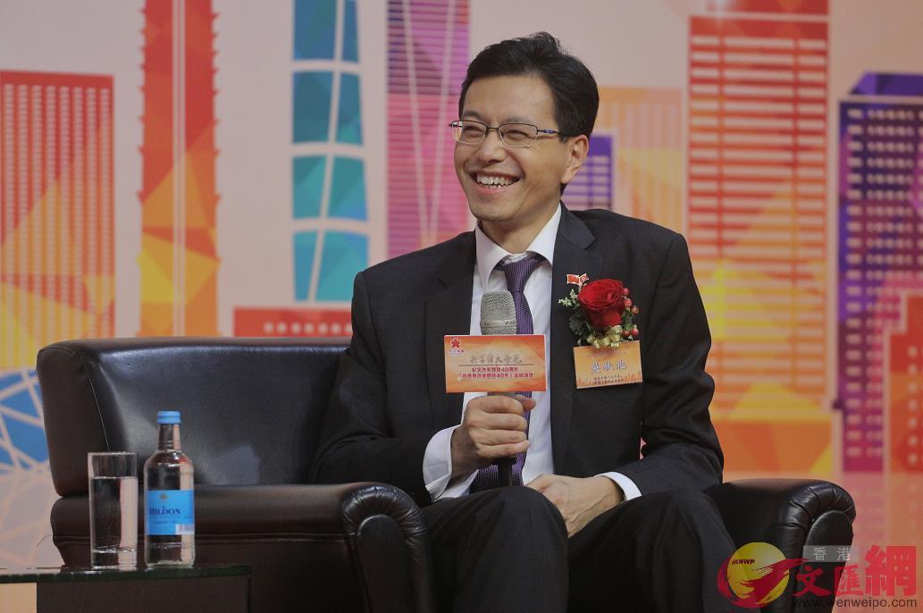 港區全國人大代表、香港工聯會會展吳秋北(全媒體記者麥鈞傑攝)
