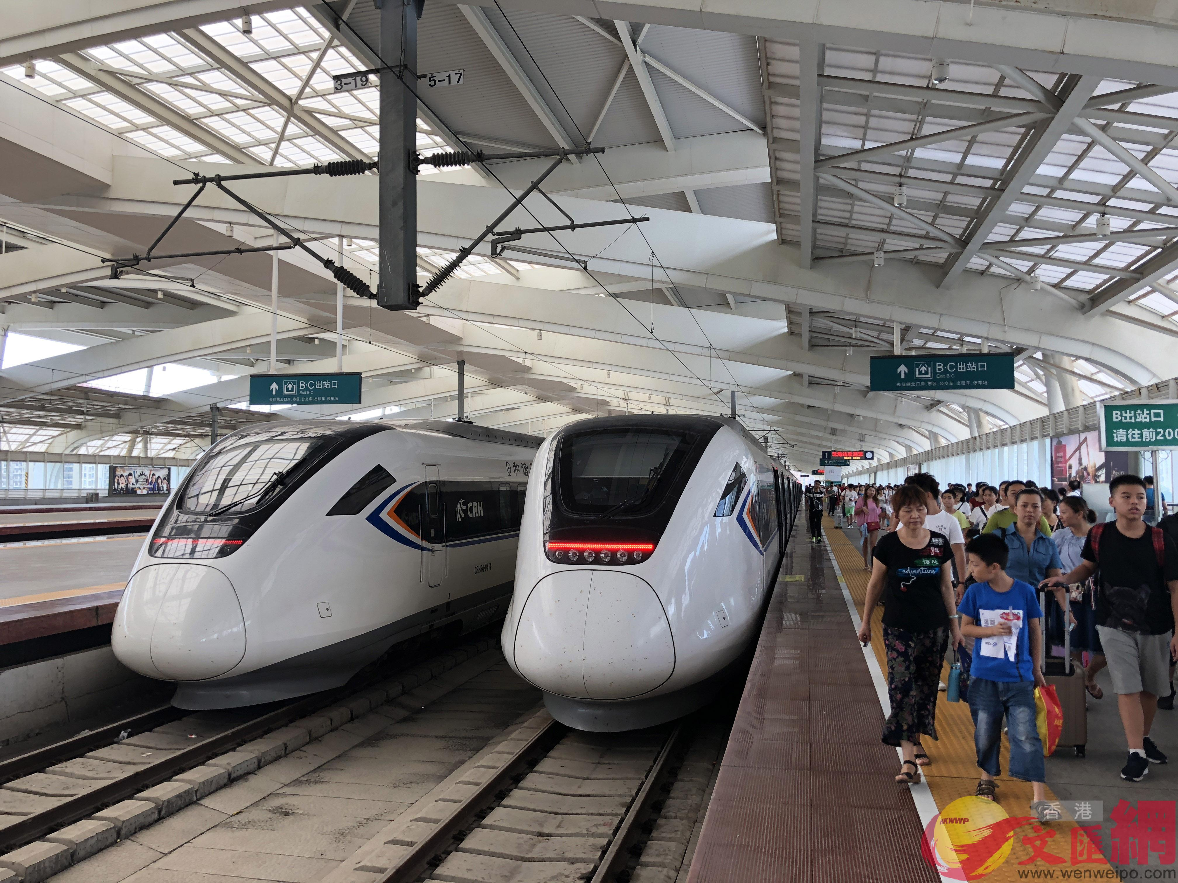 穗莞深城軌擬明年6月通車運行,成為珠三角城軌網規劃的「主軸線」。(記者 方俊明 攝)