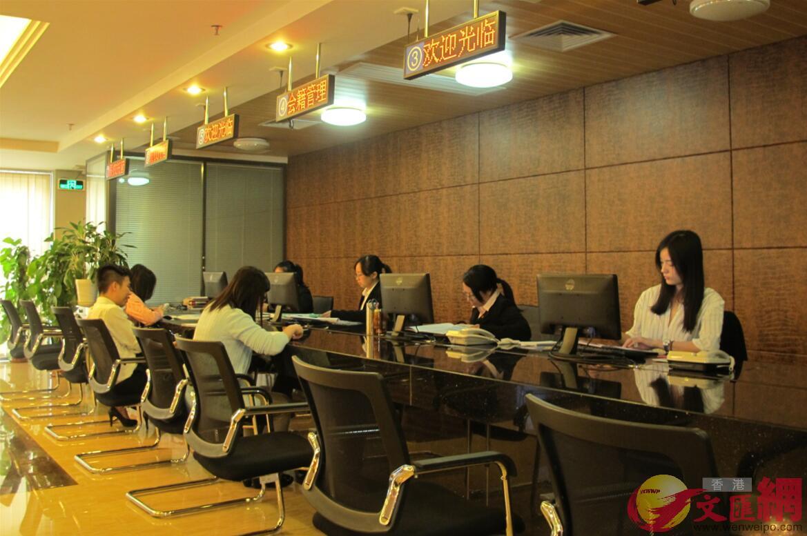 廣東將進一步提升營商環境,企業開辦時間大幅壓縮至5個工作日內。(記者盧靜怡 攝)