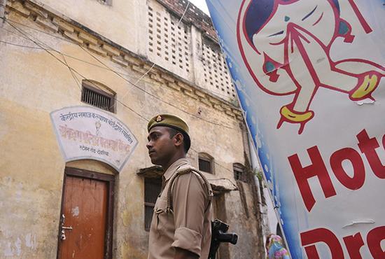 印度連爆性侵指控 政府關閉26個兒童收容中心印度北方邦城鎮德奧里亞(Deoria)的一處收容所。視覺中國 圖