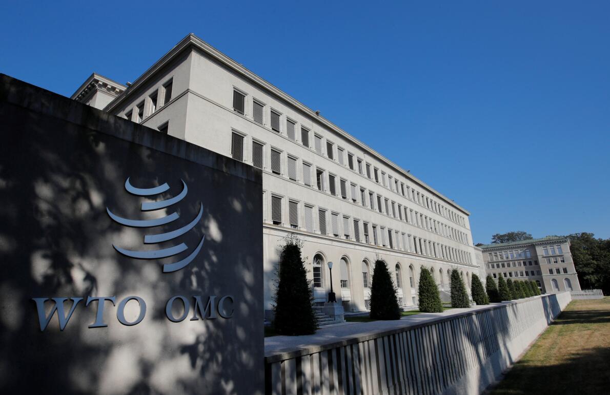 香港商務及經濟發展局譴責陳浩天公開信,指損害香港經貿。圖為WTO日內瓦總部。(路透社)