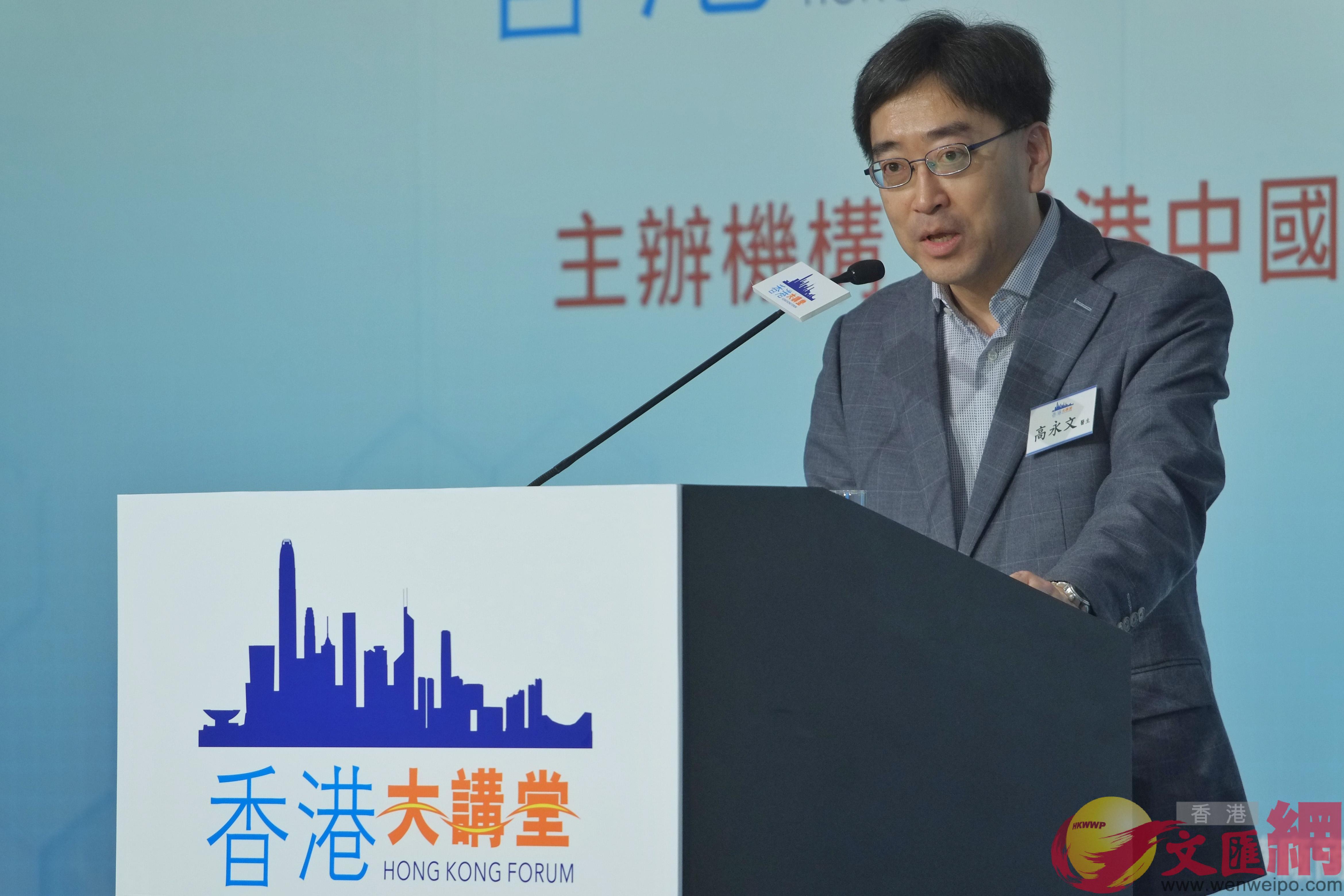 高永文指分享香港醫療分級制度經驗有助提升大灣區醫療水準