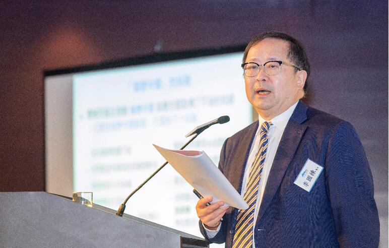 全國政協委員、WONCA世界家庭醫學組織候任主席李國棟醫生做主題演講