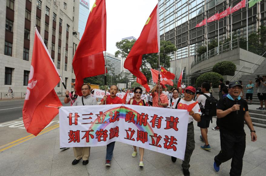 香港各界強烈呼籲政府盡快展開23條本地立法工作。
