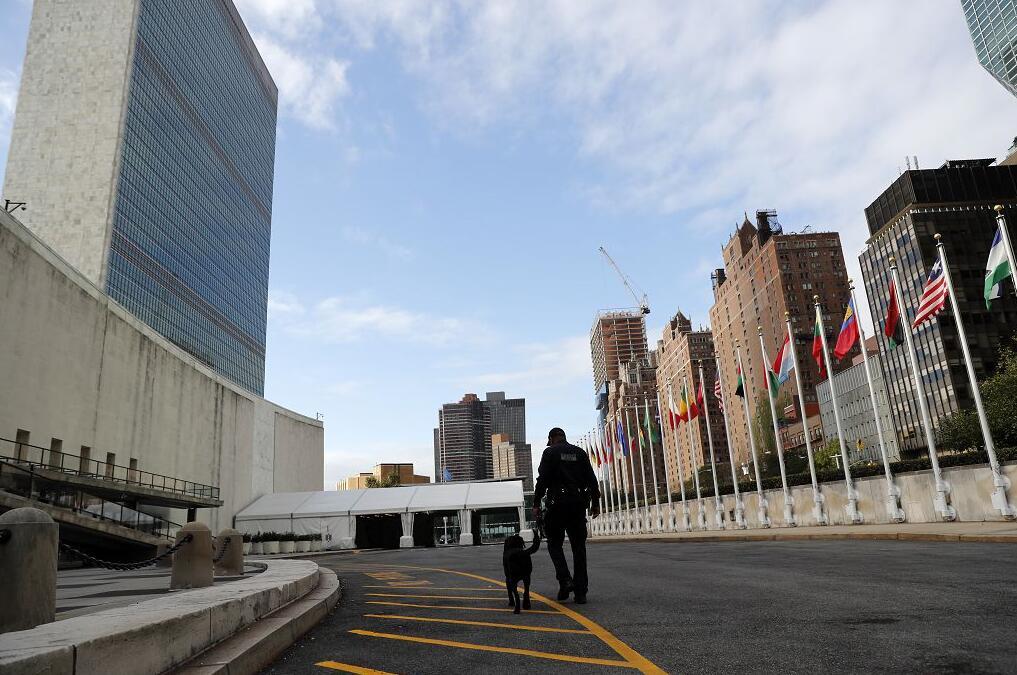 聯合國要求日本政府與原慰安婦對話。圖為聯合國紐約總部(新華社)