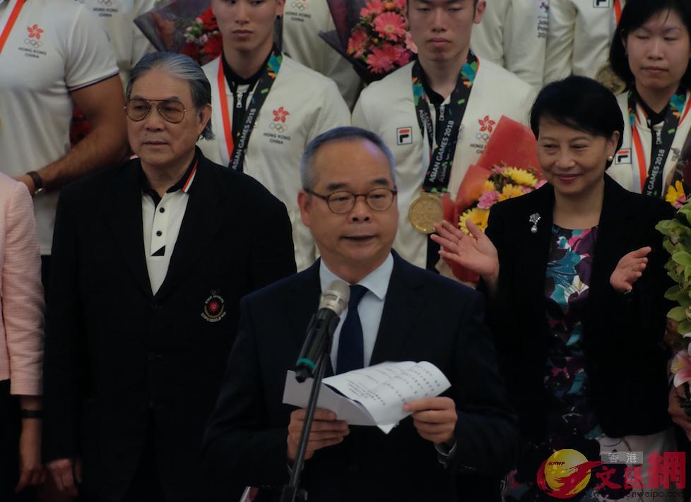 民政事務局局長劉江華出席儀式並致辭