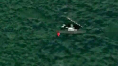 英國專家稱,MH370客機殘骸位於柬埔寨密林深處。(圖源:《鏡報》)