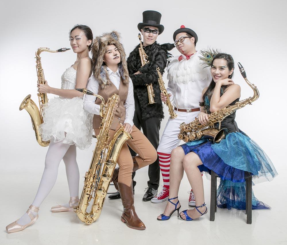 香港La Sax樂團將赴內地上演《動物嘉年華》音樂會。