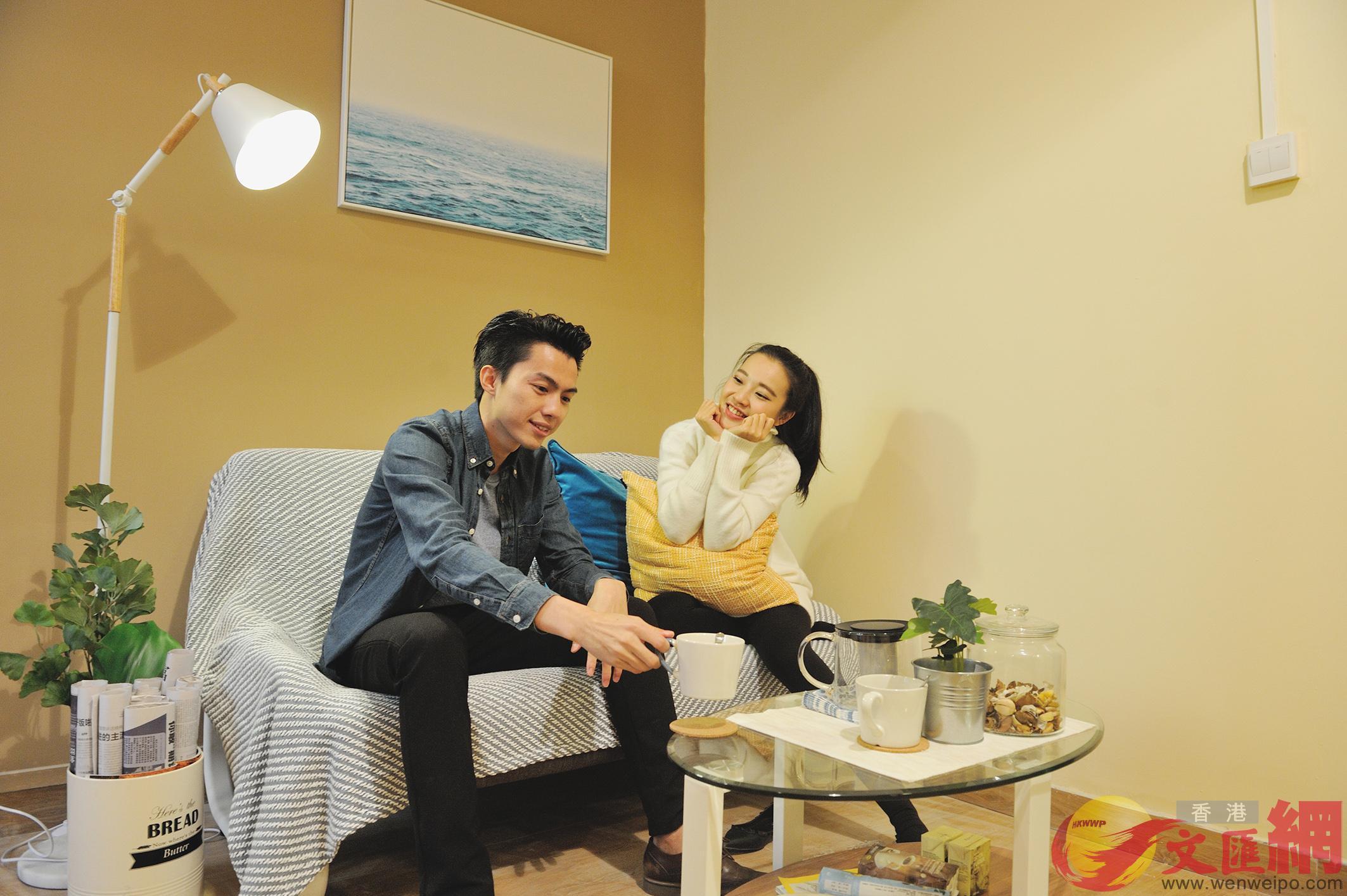 長租公寓以其舒適、配套齊全等吸引大量白領入住。記者李昌鴻 攝