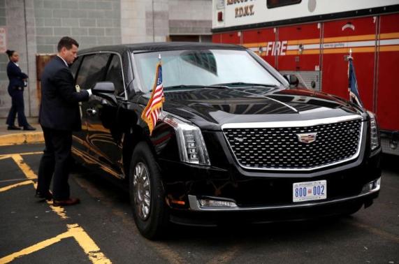 美國總統的新座駕價值逾億港元(路透社)
