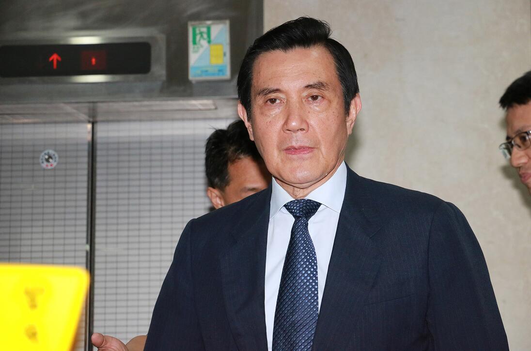 馬英九表示,台灣面臨三大挑戰,將走向可怕未來。圖為馬英九(「中央社」)