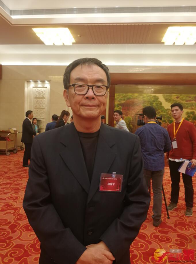 台灣聯合報社長項國寧。記者王玨攝