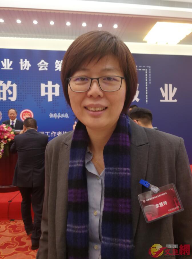 新加坡報業控股、華文媒體集團主管李慧玲。記者王玨攝