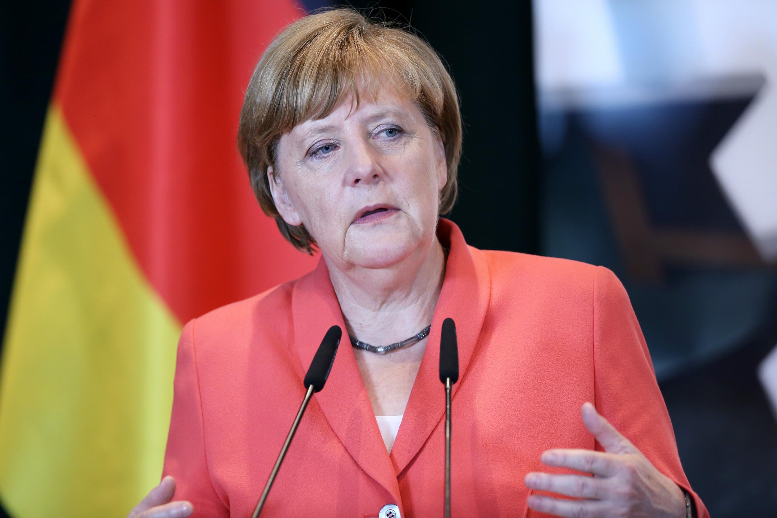 德國總理默克爾(法新社)