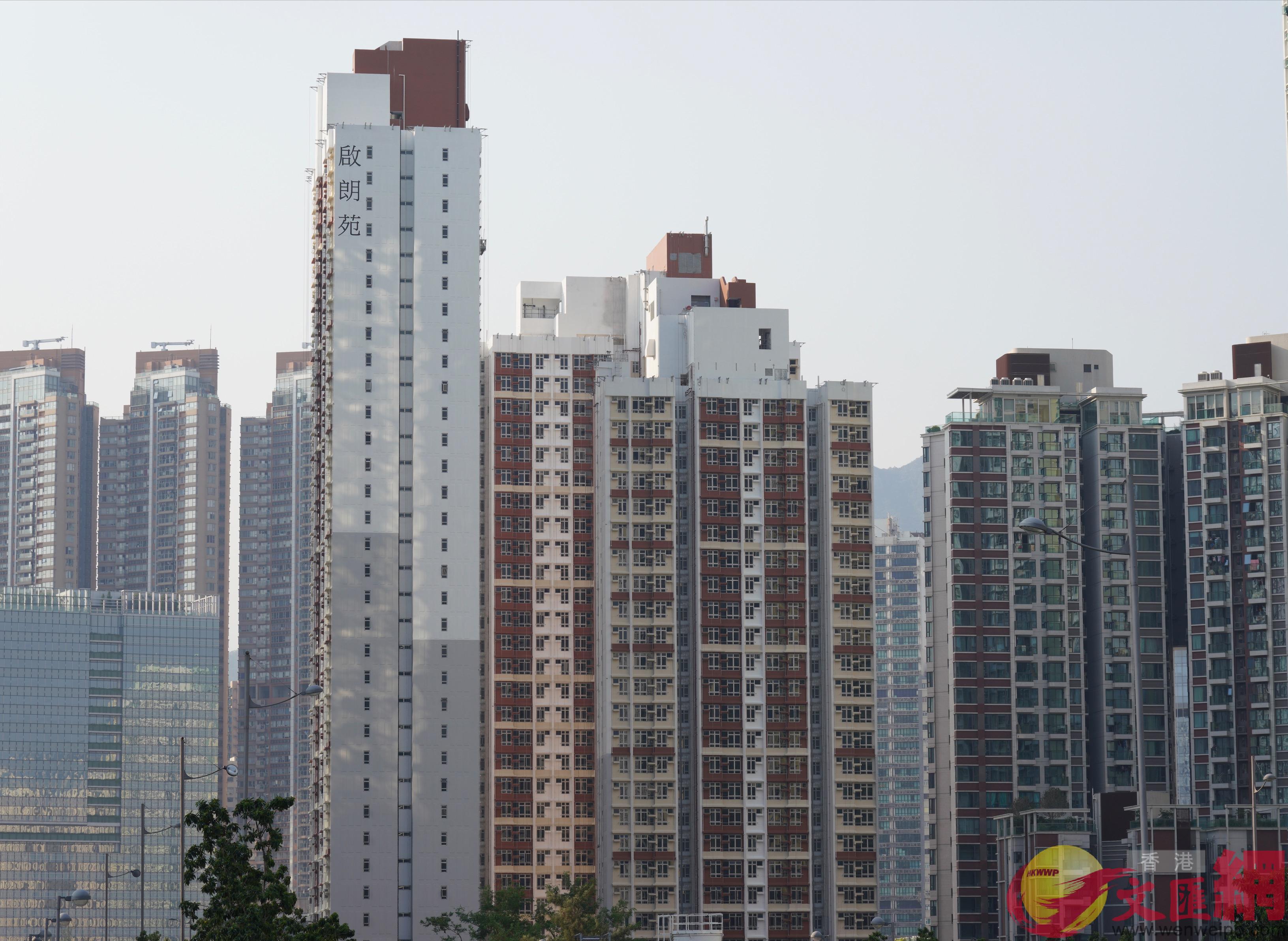 香港居屋(全媒體記者李湃豐攝)