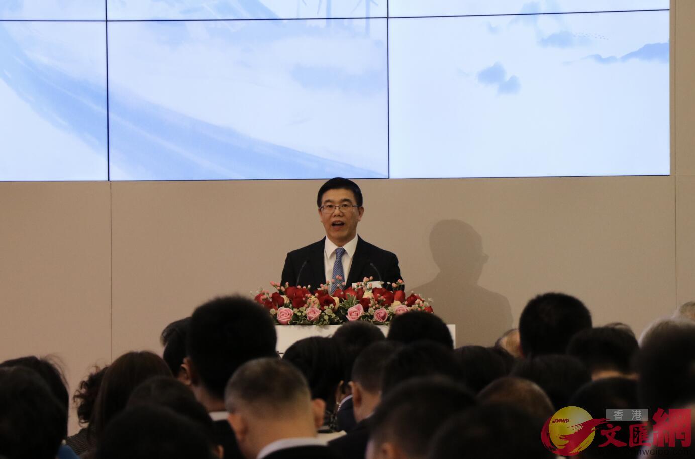 大灣區共同家園投資有限公司CEO胡章宏致辭