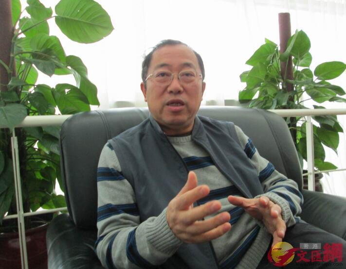 深港科技合作促進會會長、原深圳市科技局副局長張克科(記者何花攝)