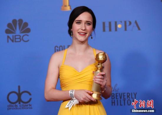 第76屆美國電影電視金球獎頒獎禮在洛杉磯舉行。金球獎音樂喜劇劇集最佳女主角:蕾切爾·布羅斯納罕《了不起的麥瑟爾夫人》 。