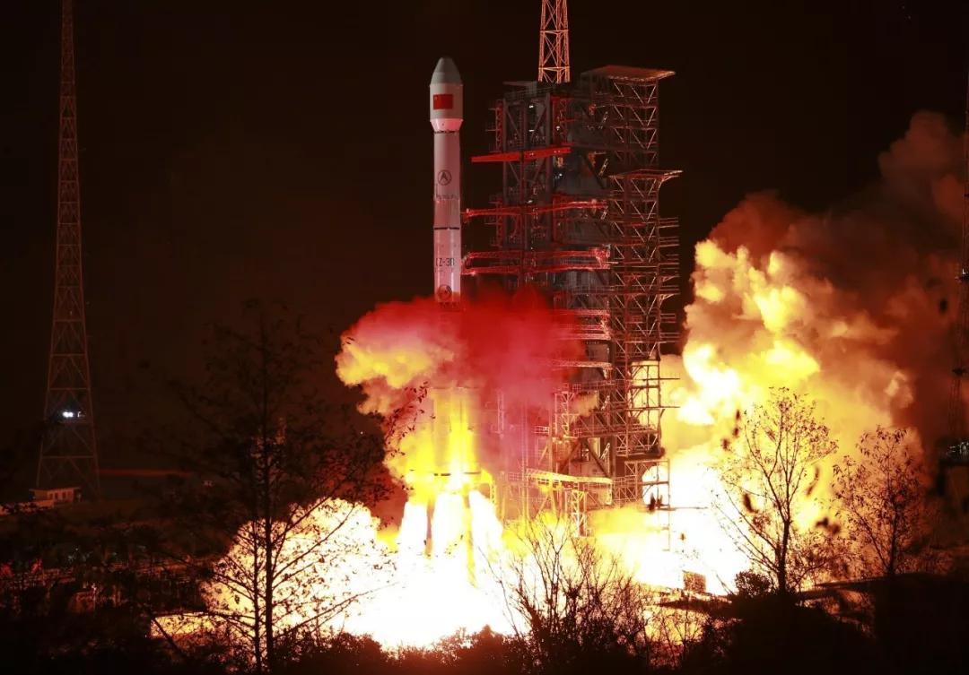 △中國航天2019年的首次發射實現開門紅。