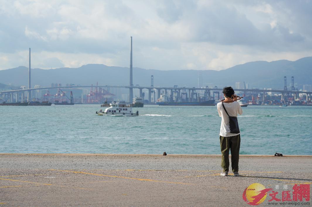 香港臭氧濃度十年新高,二氧化氮超標一倍。(全媒體記者 李湃豐 攝)