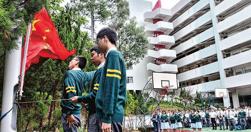 國歌條例草案列明,國歌要納入香港中小學教育,教育界人士表示不會對學校課程造成影響