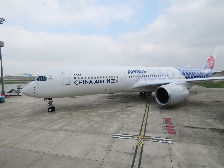 香港機管局表示,華航5班往返台灣航班取消,會留意事態發展。圖為華航飛機(資料圖片)