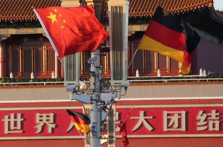 逾四成德國人認為當今中國比美國更為可靠(新華社資料圖)