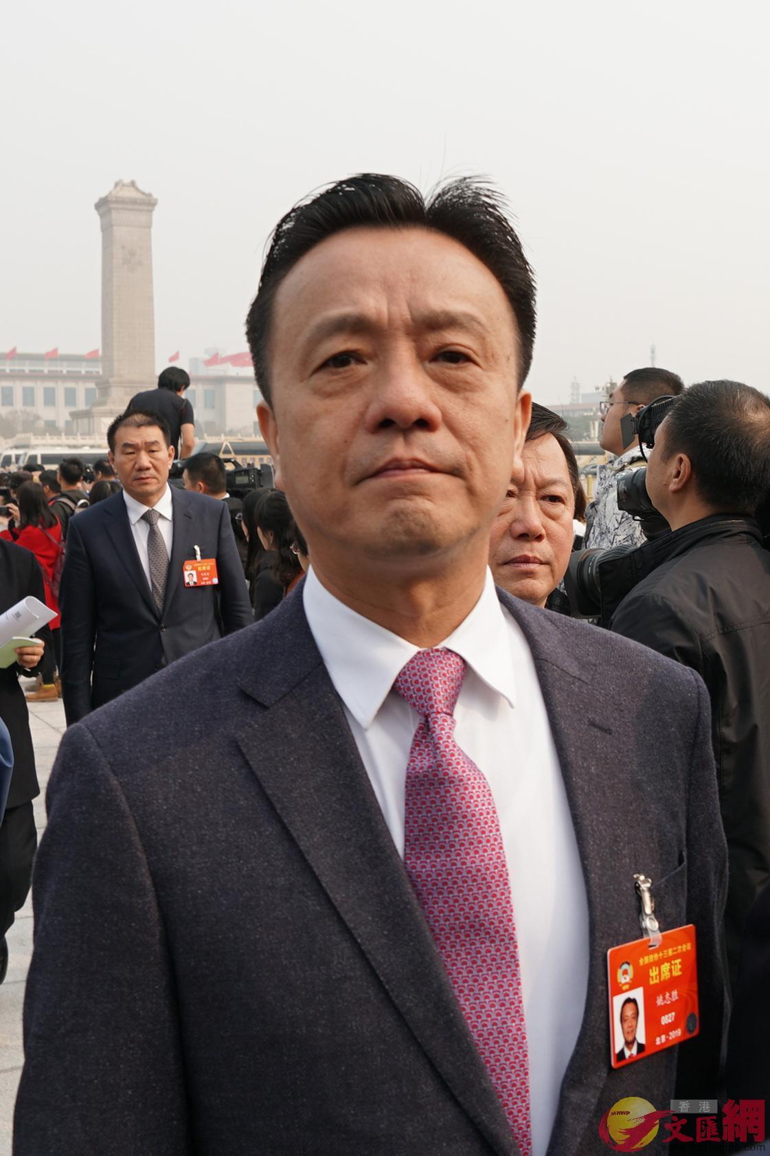 姚志胜:加强港台青年「反独促统」 - 香港文汇网